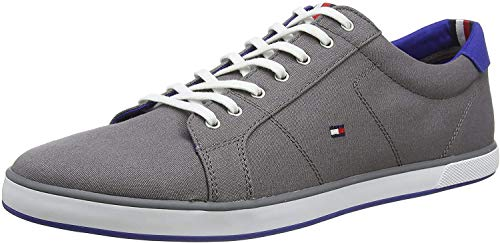 Tommy Hilfiger Herren H2285ARLOW 1D Low-Top, Grau (Steel Grey 039), 41 EU