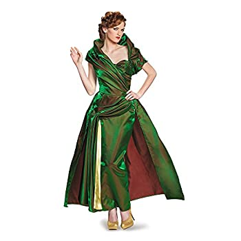 Disguise Women s Lady Tremaine Movie Adult Prestige Costume Green X-Large