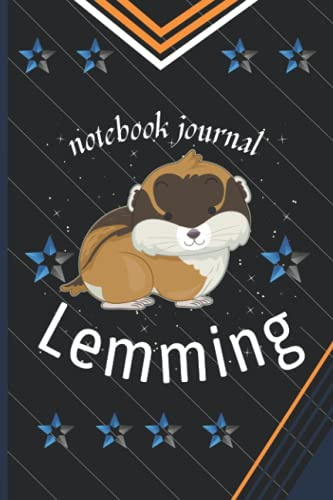 notebook journal Lemming: Lemming Birthdays perfect Blank Notebook Journal Lined Notebook Journal Gift dairy notebook for kids Birthdays and gift ... girls journal dairy notebook lover woman