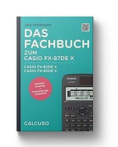 Rubrica compatibile con Casio FX 87 DE X.