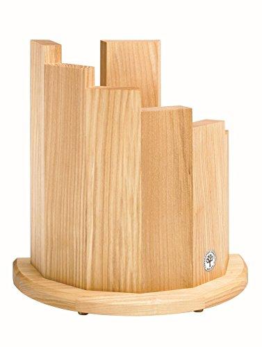Boker Messerblock aus Holz, magnetisch olivgrün