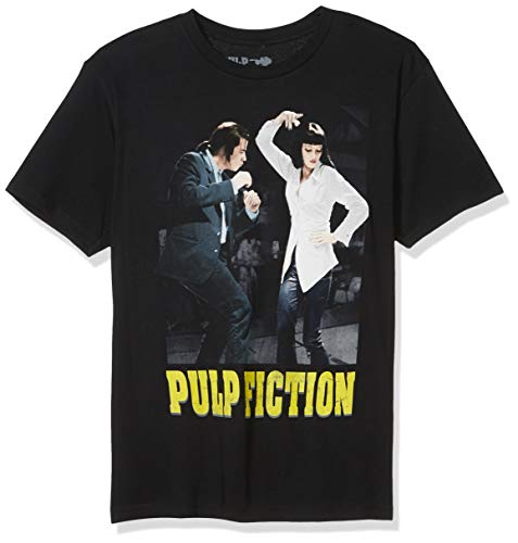 Pulp Fiction Herren Dance Off T-Shirt, schwarz, Groß