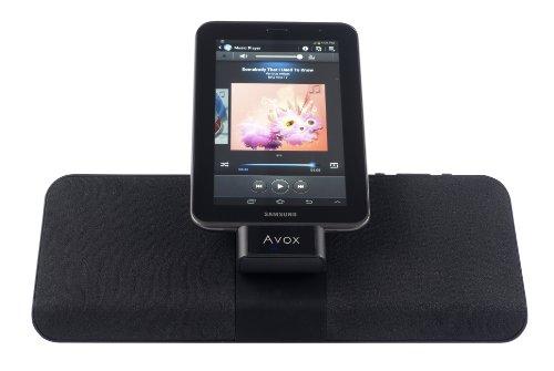 Avox NCC-26517 Spock GT Dock altoparlante per Samsung Galaxy Tablet