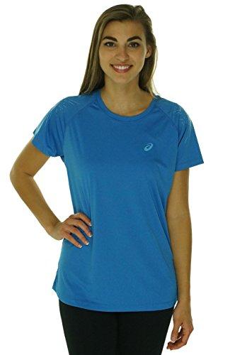 ASICS Camiseta de Manga Corta para Mujer, Mujer, 121331, Vaqueros, S