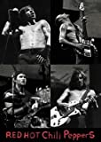 Red Hot Chili Peppers B & W Musik Poster Print–24X