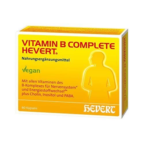 Vitamin B Complete Hevert, 60 St. Kapseln
