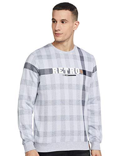 Monte Carlo Mens Grey Round Neck Sweatshirt M