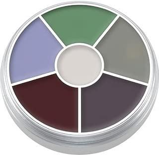 Kryolan Cream Color Circle 1306 Creature Feature Makeup 6 Colors (Creature Feature)
