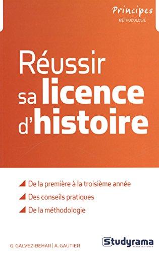 Réussir sa licence d'histoire