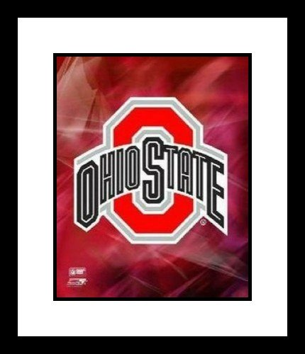 Ohio State Buckeyes NCAA 8x10 Photograph Ohio State University Team Logo