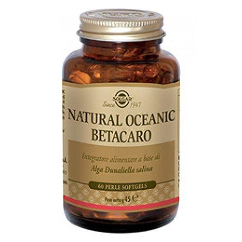 Solgar Natural Oceanic Betacaro Integratore Alimentare, 60 Perle