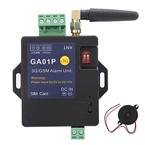 Sistema de alarma GSM, GA01P Sistema de alarma 3G / GSM Entrada de 1 vía Mini alerta de falla de energía inteligente Alerta de control remoto de teléfono móvil Sistemas de seguridad para el hogar y el