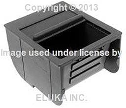 BMW Genuine Center Console Insert - Black for 525i 528i 530i 540i 540iP M5
