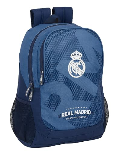 Safta 612124665 Mochila grande adaptable a carro Real Madrid CF