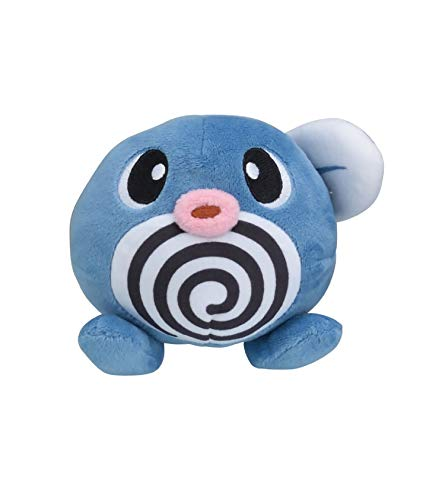 Pokemon Center Original Pokemon Fit Poliwag Ptitard Quapsel Plush Peluche Plüschtier