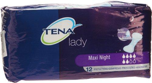 Tena Lady Maxi–Night Protektoren für Inkontinenz–X 12