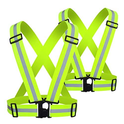 Arnés Reflectante, un Chaleco Reflectante de Seguridad Que Puede Proteger la Seguridad Personal. Se Puede Usar como Ropa de Traficante o como Chaleco de Seguridad para Traje de Ciclista.