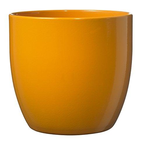 soendgen cerámica Flores Maceta, Basel Full Color, Arcilla, apfelsine, 14 x 14 x 13 cm