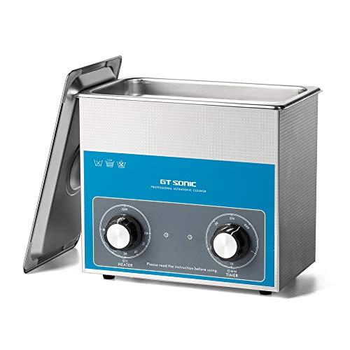 卓上型 超音波洗浄機 小型 業務用 眼鏡 腕時計 食器 入れ歯 メガネ 超音波洗浄器 加熱 超音波 クリーナー 3l 100w 40khz スタンレス 機械操作 超音波洗浄