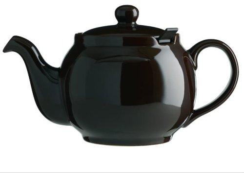 London Teapot Company - Chatsford - Teiera per 6 Tazze con 1 Filtro Rosso, Colore: Marrone