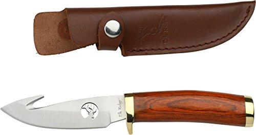 Elk Ridge Couteau d'extérieur Hunter Manche en Bois Longueur Totale cm : 21,59, elkr de 1016