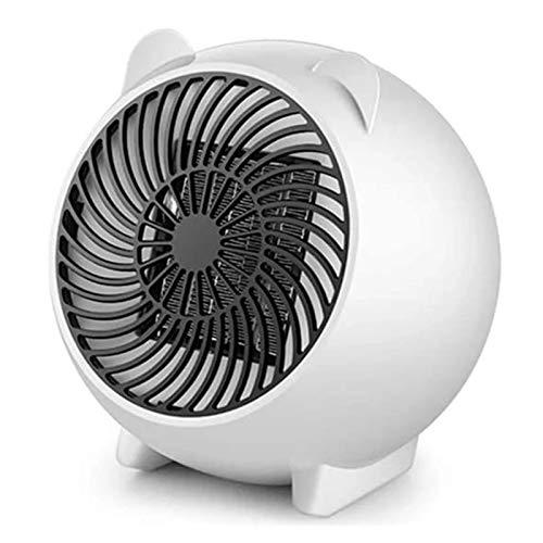 Mini Calentador De Ventilador Eléctrico, Calentador De Ventilador, Calentador De Mesa, Calentador De Cerámica PTC, Viento Frío/Cálido/Caliente Para La Selección