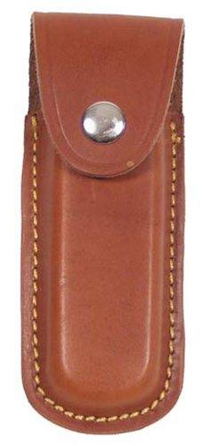 MFH Fox Outdoor Messer-Etui aus Leder mit Heftlänge bis 11 cm (Braun)