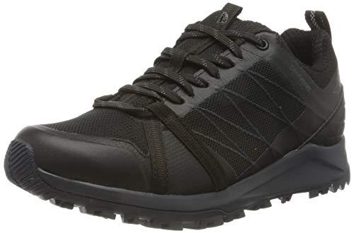 THE NORTH FACE Women's Litewave Fastpack Ii Wp Walking Shoe, TNF Black, 10.5 UK