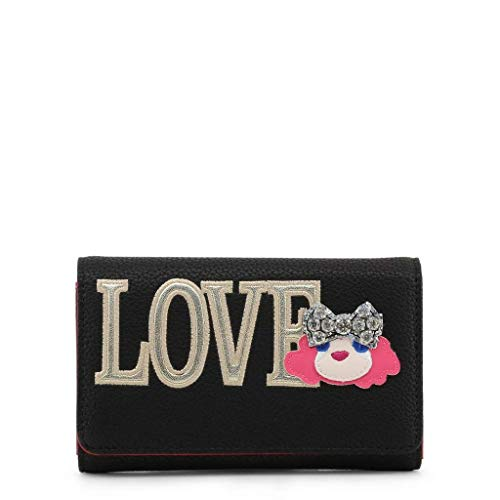 Love Moschino - Bolso de mano para mujer, color negro
