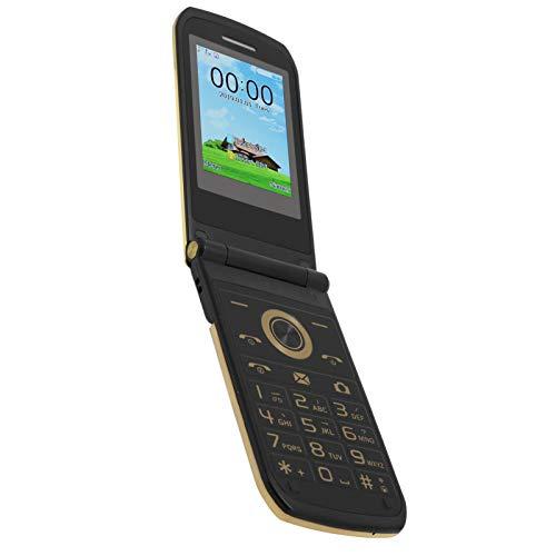 Cuifati Teléfono móvil con botón Grande, batería incorporada de 3800 mAh, tamaño pequeño con Personalidad, los Idiomas admitidos Son inglés,(European regulations)