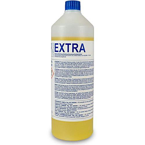 Extra Teppich-Shampoo (1L Flasche) für alle Waschsauger - sehr ergiebig - Mischverhältnis 1:200 (statt üblichen 1:5)