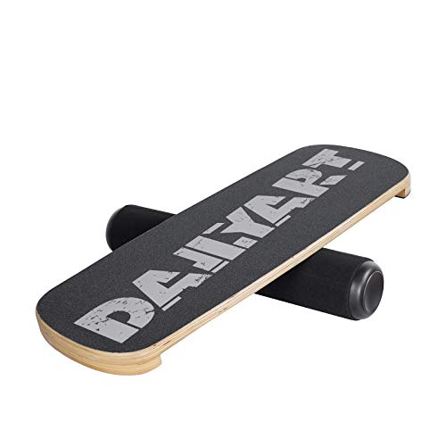 Dailyart Balance Board Trainer, Board Exercise with Roller, Training Equipment for Balance Stability and Fitness, Core Balance Board for Surf Ski Snowboard Skateboard Hockey Training, Gray