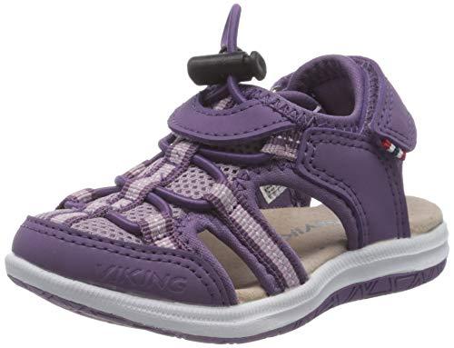 viking Thrilly, Unisex-Kinder Geschlossene Sandalen, Violett (Lavender 65), 26 EU (8.5 UK)