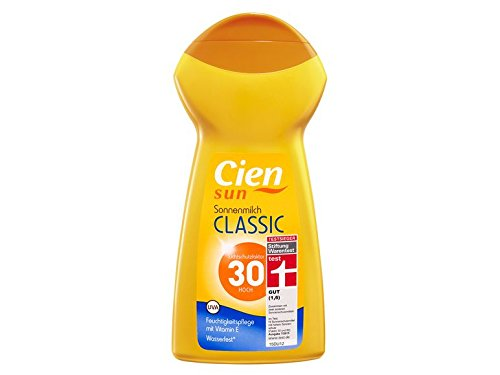 CIEN sun Sonnenmilch Classic LSF 30, 5 x 250 ml