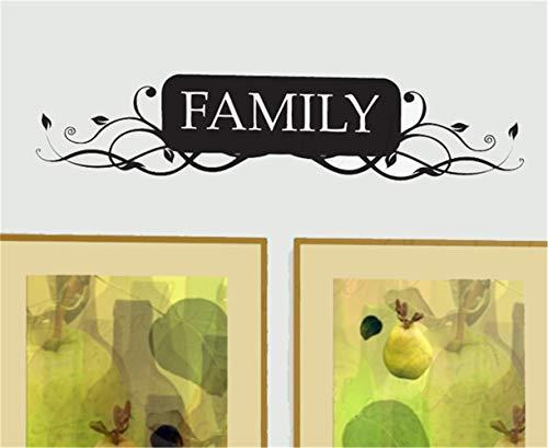 wandaufkleber küche kaffee Familie für Wohnzimmer Eingang