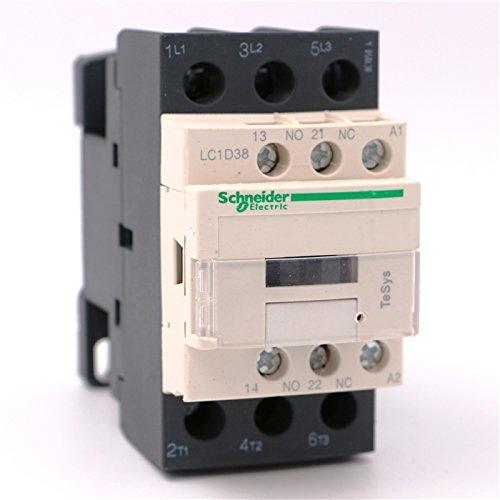 LC1-D38F7 | LC1D38F7 | Schneider CONTACTOR 38A 110VAC