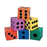 Fun Express - Foam Dice Assortment - Toys - Games...