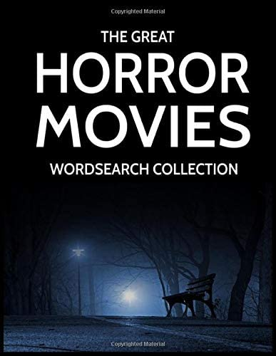 The Great Horror Movies Wordsearch Collection 100 Horror Films Word Searches product image