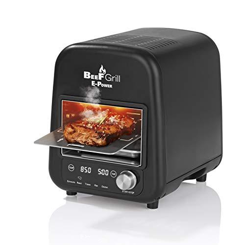 E-Power GOURMETMAXX 8100 BeeFGrill Oberhitzegrill Beef Maker, Elektrogrill 850 °C