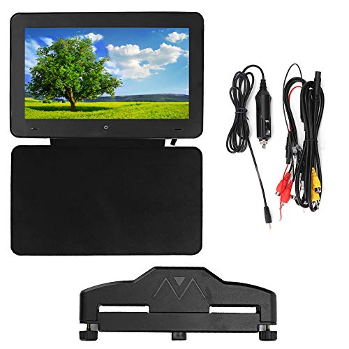 9'' 1080P Auto Hoofdsteun Mount Touchscreen Video Speler, Afstandsbediening MP5 Speler en Auto DVD Speler, Universele Auto Hoofdsteun Monitor