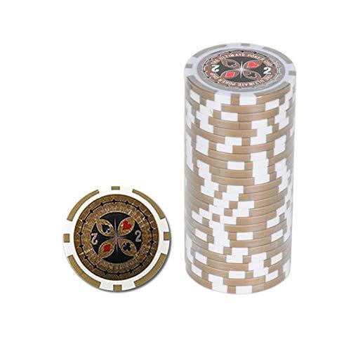 Ultimate Pokerchips 2 Er Wert Poker Chip Roulette Casino Qualität