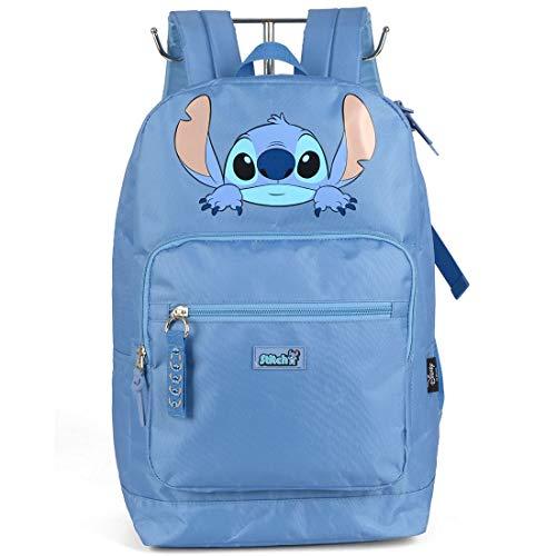 Mochila Escolar Stitch MS46087SC-AZ