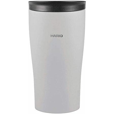 HARIO(ハリオ) タンブラー グレー 300ml HARIO フタ付き保温タンブラー STF-300-GR