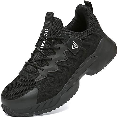 UCAYALI Zapatos de Seguridad Hombre Mujer Anti-Piercing Zapatos de Trabajo Punta de...