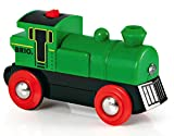 BRIO World  - 33595 - LOCOMOTIVE A PILE BI DIRECTIONNELLE VERTE