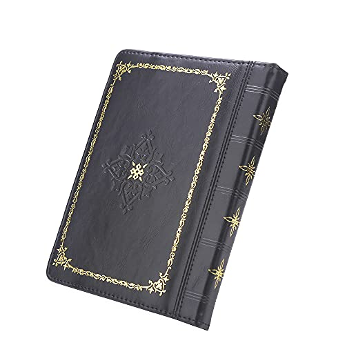 Enjoy-Unique - Custodia a libro in pelle PU per lettore ebook da 6', per Sony / Kobo/Pockbook/Nook/Tolino 6', colore: Nero
