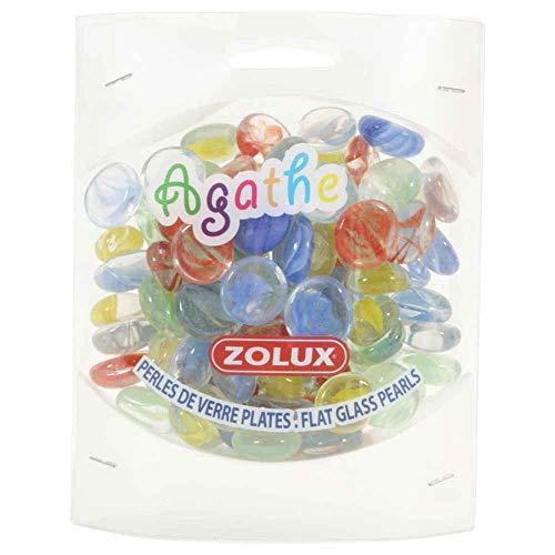 Zolux Perles de Verre Agathe pour Aquariophilie 400 g