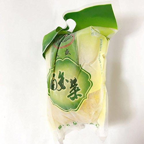 東北酸菜 白菜の酢漬け 中国東北のさんさい 冷凍食品 500g