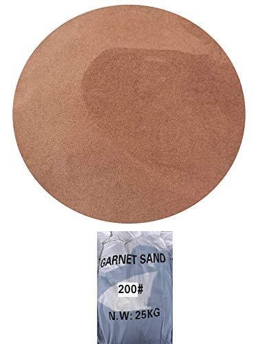 Sac 25kgs d'Abrasif Garnet Mesh 200A+ pour Sablage Aerogommage