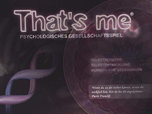 Investment GmbH That\'s me - Psychologisches Gesellschaftsspiel